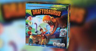 معرفی بازی Draftosaurus در ۱۰۰ ثانیه
