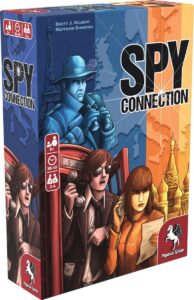 جعبه بازی spy connection