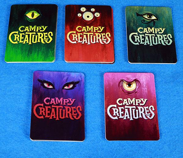 دسته کارت های هیولا در بازی هیولا